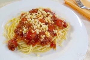 Filipino Style Spaghetti By Pinoy Food Guide
