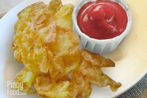 Crispy Egg Chips Pinoy Food Guide
