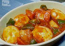 Egg Caldereta Recipe Pinoy Food Guide