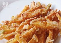 Kalabasa Fries Recipe Pinoy Food Guide