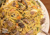 Pancit Canton Recipe Pinoy Food Guide